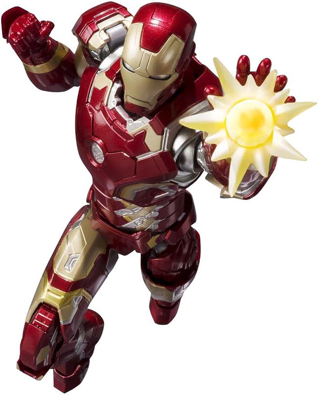 Iron Man Mark 43 S.H. Figuarts Actionfigur Avengers Age of Ultron 16 cm