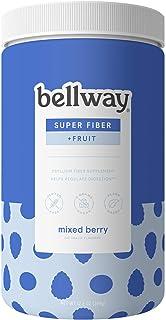 Sponsored Ad - Bellway Sugar-Free Psyllium Husk Fiber Supplement, Mixed Berry, 13.8 oz.