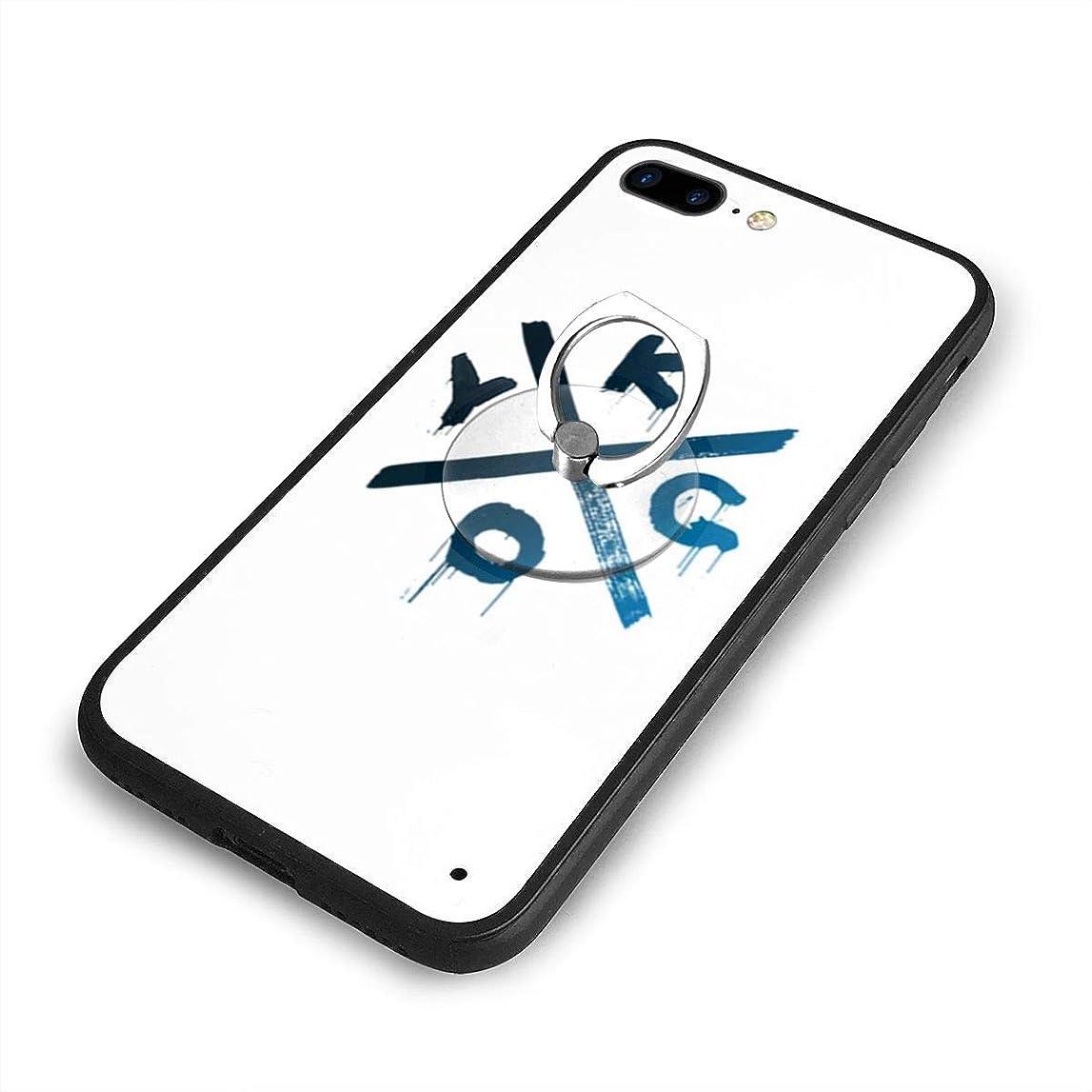 瞬時にタイヤ赤外線KygoiPhone 7/8 Plusケースリングブラケット 携帯カバー 創意デザイン軽量 傷つけ防止 360°回転ブラケット 携帯ケース PC 衝撃防止 全面保護
