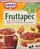 Cameo Fruttapec, per Confetture Riduce i Tempi di Cottura, 2 Buste