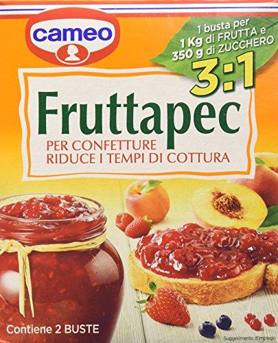 Cameo - Fruttapec, per la cottura casalinga di confetture e gelatine - 2 pezzi da 25 g