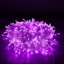 LED fairy skewers Christmas waterproof LED fairy tale lamp for lying, garden, wedding, party - purple20m200lights