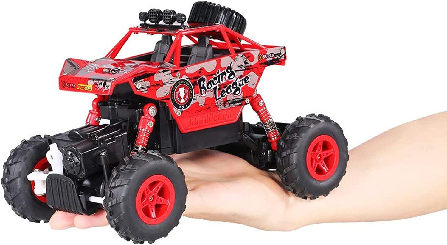 Generic Creative Double Star 1150 1 20 2.4G 4WD RTR King Turned Climb OffRoad Rock Crawler RC Car Red