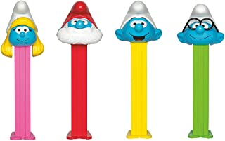 PEZ Candy Smurf Assortment Blister Pack (Pack of 6)