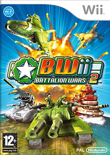 Nintendo WII BATTALION WARS II - Juego (Nintendo Wii, Estrategia, Kuju, T (Teen))