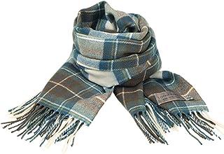 [ロキャロン] Lochcarron of scotland英国スコットランド製 ストール 大判 ラムズウール100% タータンチェック マフラー