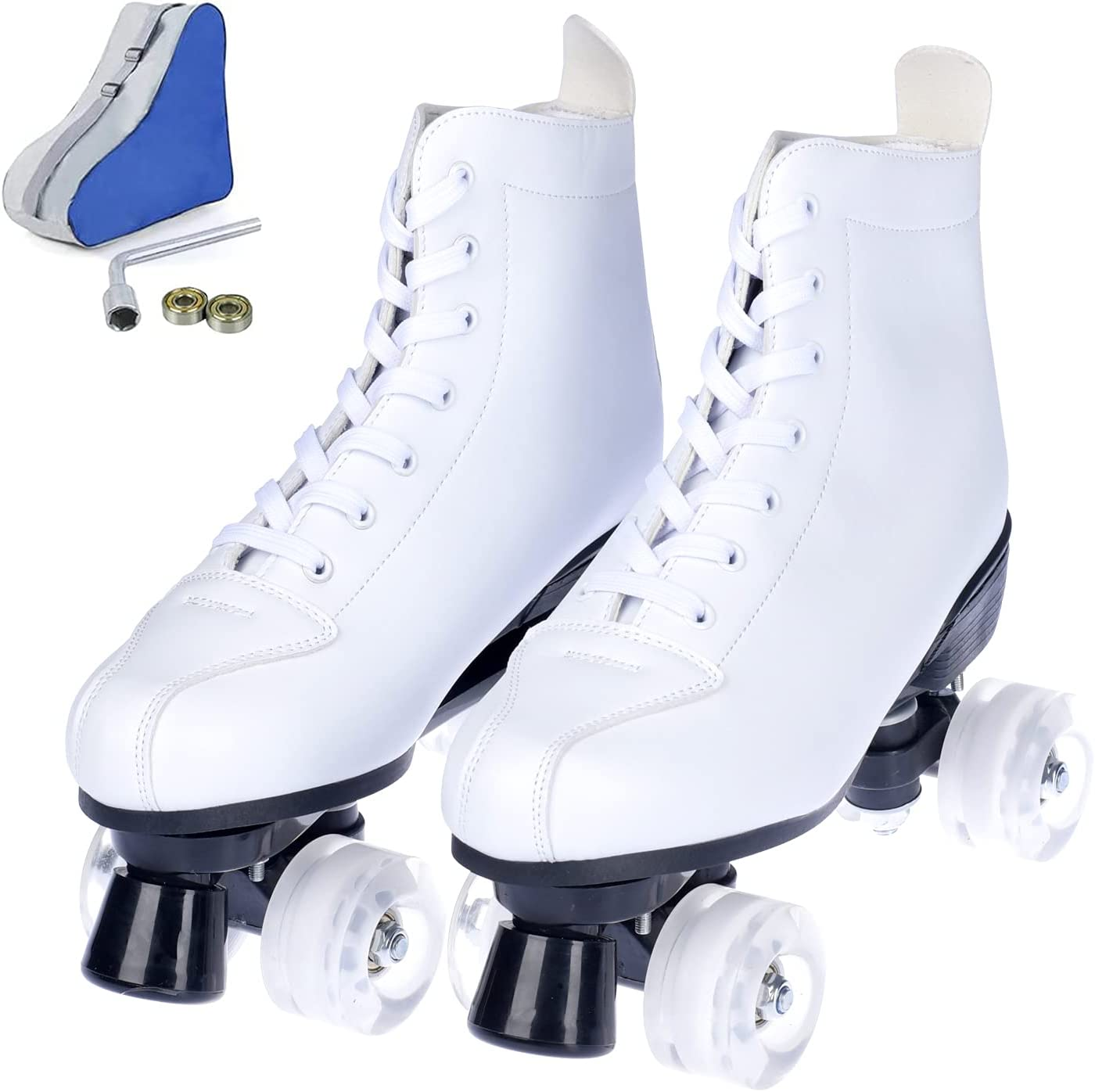 Roller Skates for Adults Miami Mall Women and Men High-top Price reduction Leather Shin PU