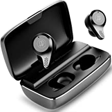 Bluetooth Earbuds Wireless Earbuds Bluetooth Earphones, APANAGE T20 Bluetooth 5.0 Deep Bass 156H Playtime IPX7 Waterproof TWS Stereo in-Ear Headphones with Aluminum Alloy Charging Case, CVC8.0 Apt-X