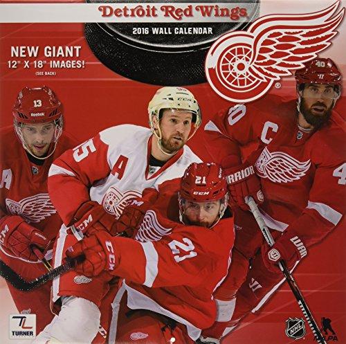 NHL Detroit Red Wings 2016 Kalendar