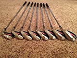 TaylorMade Burner Plus Irons 4-AW (Right Hand, Steel, Uniflex)