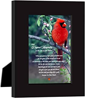 Sympathy Gift, with Deepest Sympathy on The Loss of Your Father Poem Print