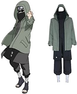 Mister Bear Naruto Shippuden Shino Aburame Cosplay Costume