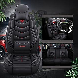 2 fronts housses de siège I-pour s/'adapter à une honda accord voiture hexagonale gris