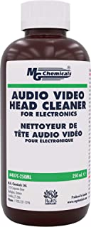 MG Chemicals 407C-250ML Audio/Video Head Liquid Cleaner, 250 ml Bottle