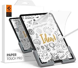 Spigen PaperTouch Pro フィルム iPad Air 4、iPad Pro 11用 紙のような描き心地 貼り付けキット付き iPad Air4 10.9インチ 用 アンチグレア 反射防止 さらさら 液晶保護フィルム 1枚入