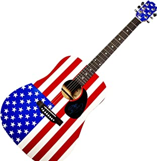 Billy Ray Cyrus Autographed Signed USA Acoustic Guitar UACC RD COA AFTAL