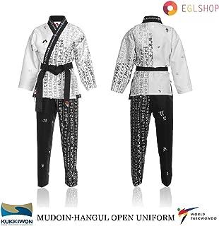 Mudoin Color Line Uniforms MMA Demonstration Suits Doboks Martial Arts Taekwondo