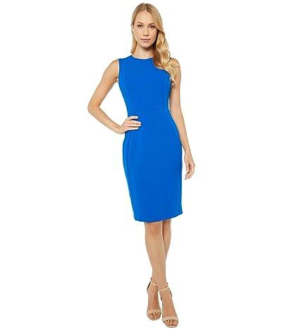 Calvin Klein Solid Sheath Dress (Capri) Women