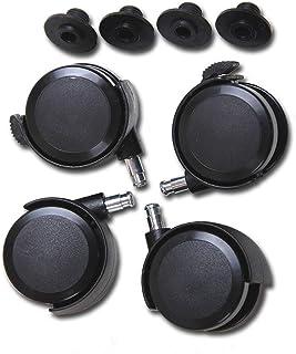 Babybay 100401 - Roulettes parquet pour lits midi et maxi