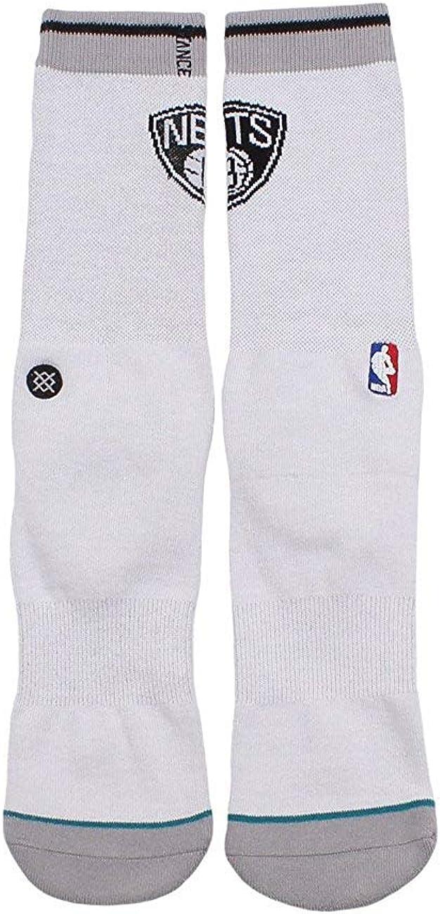 Stance Men's Nets Casual Logo NBA Sock