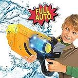AnseeDirect Pistolet à Eau Electrique Fusil À Eau Grande Capacité Longue Portée avec Lumière LED pour Enfant Adulte pour...