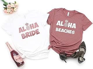 aloha bride shirt
