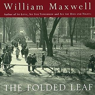 The Folded Leaf audiobook cover art