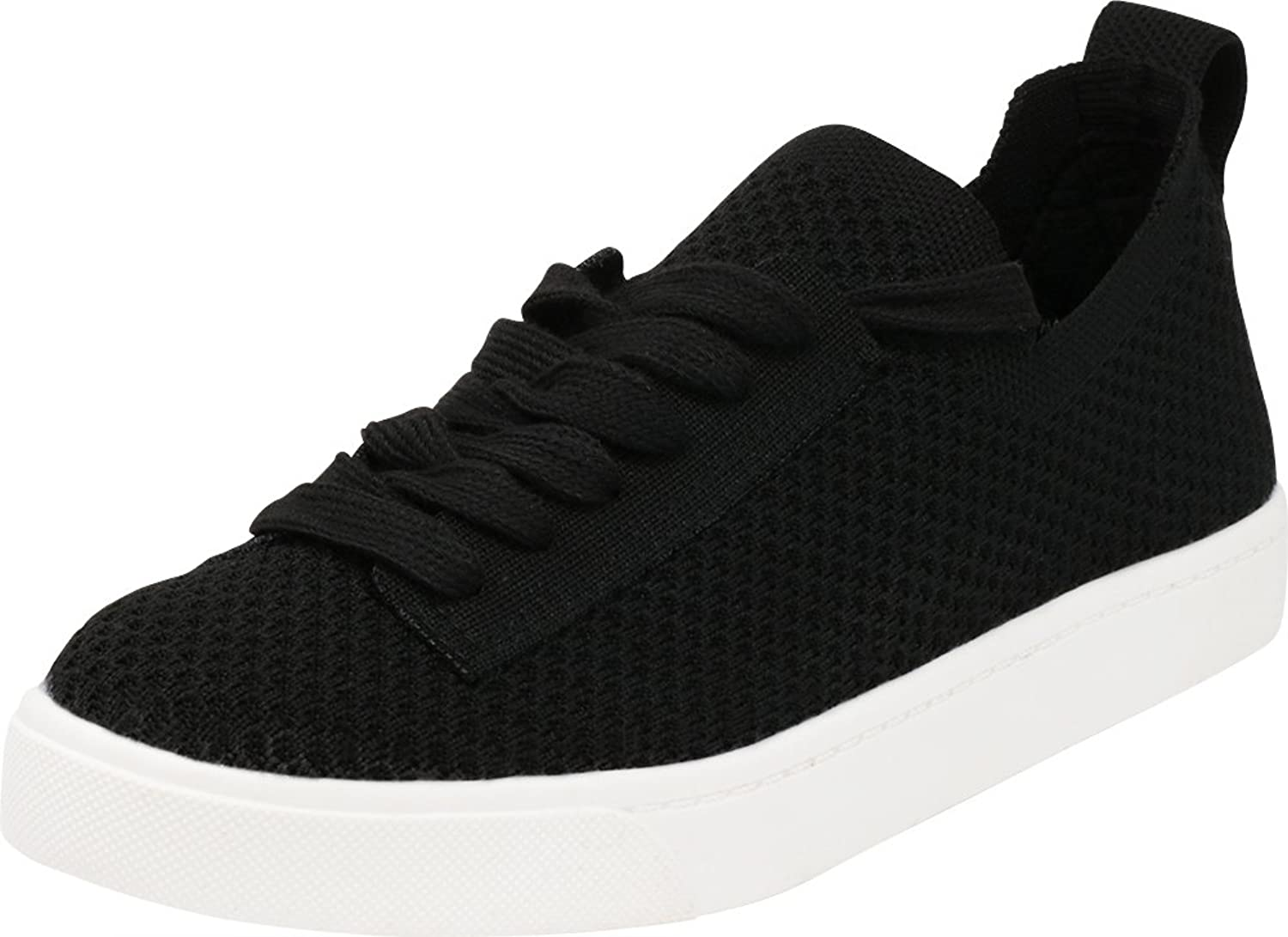 Cambridge Select Women's Closed Round Toe Low Top Lightweight Breathable Casual Sport Fashion Sneaker