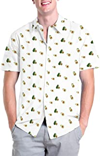 Hawaiian Shirts for Men Button Up - Funny Short Sleeve Button Down Aloha Shirts