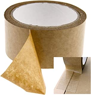 Brown Self-Adhesive Picture Frame Backing Tape Rolls of 50mm And 50m Length