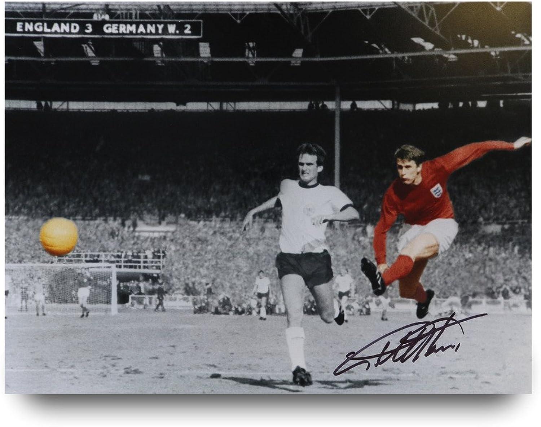Sir Geoff Hurst Signed 16x12 Photo England 1966 Autograph Memorabilia + COA
