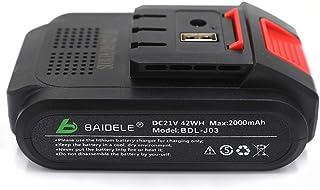 Batería de litio recargable para tijeras de podar eléctricas de 30 mm 35 mm (BDL-J03), 21 V 2000 mAh