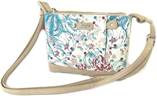 Shoulder bag 'Gabol'turquoise beige (2 compartments).