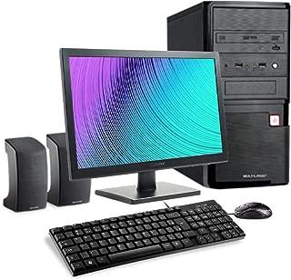 Computador Multilaser Intel Celeron 4GB 500GB HD Monitor 18,5 Pol. Linux + Acessórios Preto - DT023