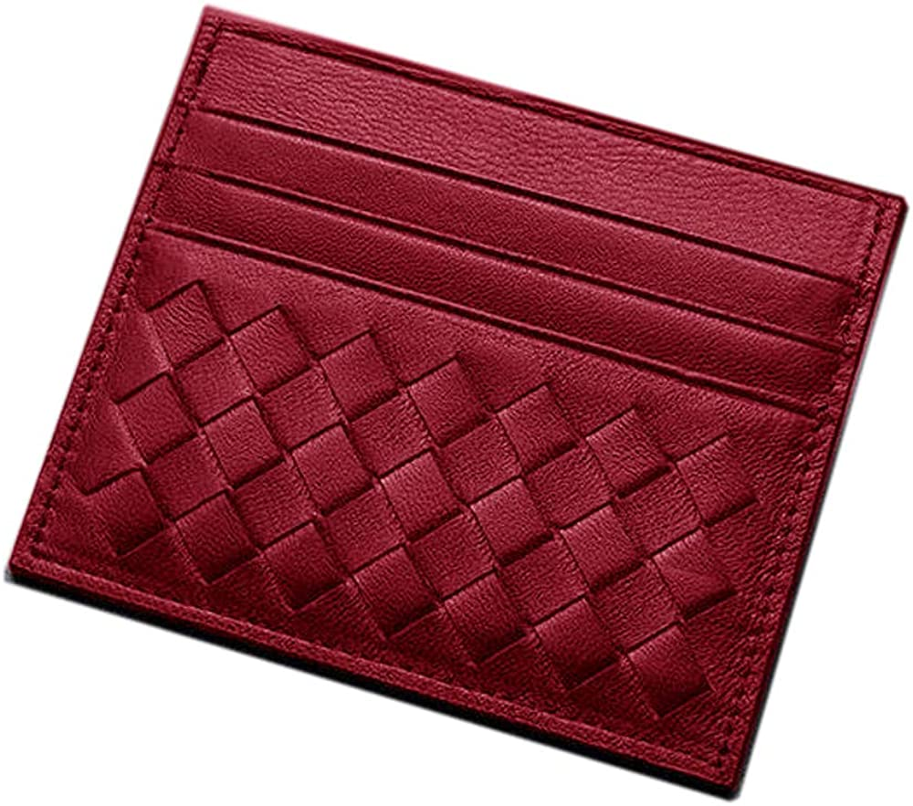 MAGICMK Minimalist Front Pocket Card Case Wallet Slim Card Holder for Men Women