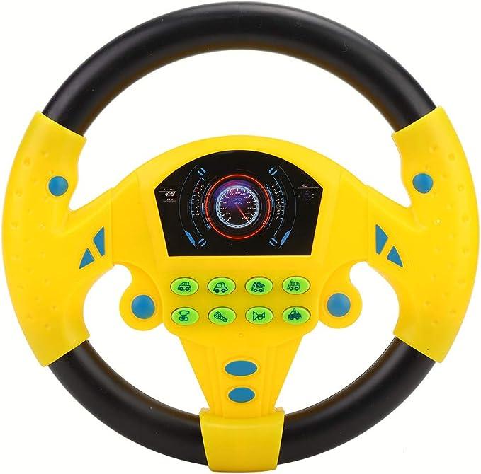 37 opinioni per Volante Copilota per Bambini Simulazione Giocattolo Volante con Luce E Suono