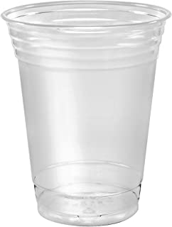 SOLO Cup Company 12 Ounce Solo 100 Piece Company Plastic Party Cold Cups, Clear, 12 Oz