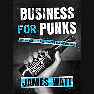 Business for Punks audiobook cover art