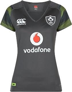 坎特伯里爱尔兰官方 17/18 女式橄榄球短袖 Away Pro 球衣