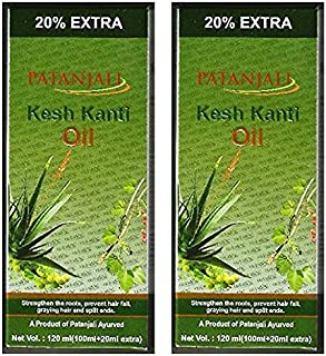 2 x Patanjali Kesh Kanti Hair Oil 100ml (Pack of 2)