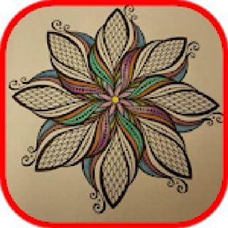 Adult coloring books : Anti stress recolor Mandala