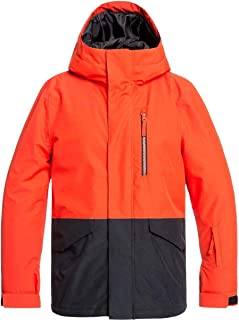 Quiksilver Boys Mission - Snow Jacket for Boys 8-16 Snow Jacket
