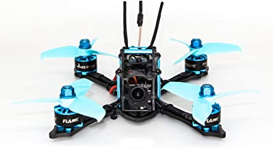 HGLRC 145mm FPV Racing Drone BNF XJB145 3 inch Drone Omnibus F4 Flight Controller 28A Blheli_S 4 in 1 ESC 25/100/200/350mW Switchable VTX 1407 3600KV Brushless Motor RC Drones Quadcopter (FRSKY XM+)