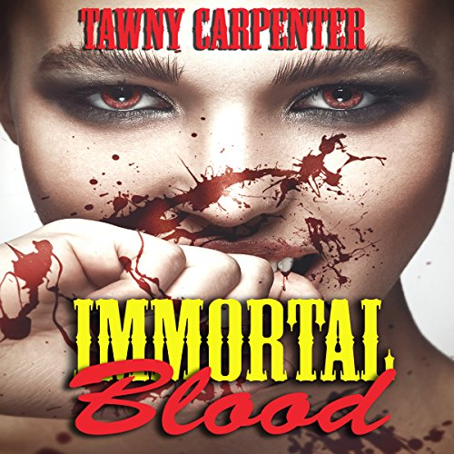 Immortal Blood audiobook cover art