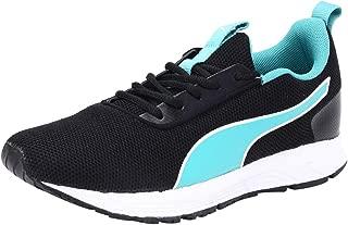 Puma Women's Progression Pro Wn S Idp Black-Blue Running Shoes