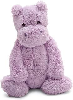 Jellycat Bashful Lilac Hippo, Medium, 12 inches