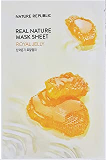 Nature Republic Real Nature Mask Sheet ROYAL JELLY 10pc SET Daily Mask Korea