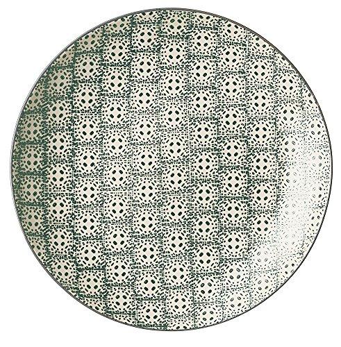 Bloomingville Speiseteller Ø 25 cm Karine grün