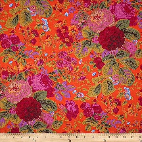 FreeSpirit Quilt Fabrics 0366248 Kaffe Fassett Collective Grandi Floral Tomato Quilt Fabric by the Yard