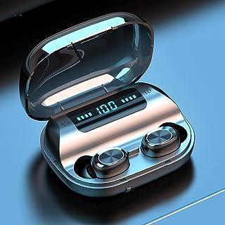 Audífono Bluetooth 5.0 TWS IPX7 Mini Earbuds con 3000mah Ba